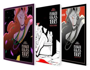 MARDI GRAS 1993 / Comic + Special Edition + Artbook MARDI GRAS 1993
