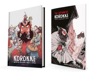 KOROKKE Y LA CHICA QUE DIJO NO + Artbook Vol. 1 KOROKKE AND THE SPIRIT BENEATH THE MOUNTAIN