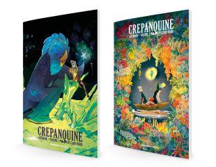 CREPANQUINE / Artbooks 1 & 2 CREPANQUINE (Omnibus & Book 2)