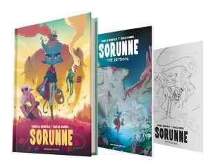 SORUNNE / Cómic in French + Artbook + Storyboard SORUNNE [Preorder]