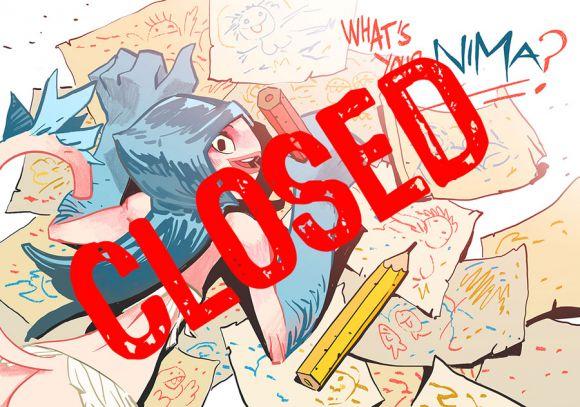 The deadline for Nima's fan-art is now closed!