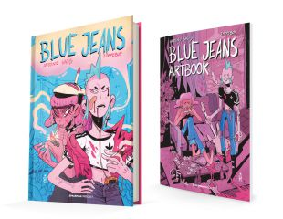 BLUE JEANS / Comic + Artbook BLUE JEANS