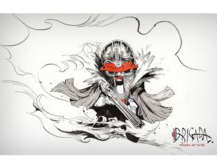 BRIGADA / DIBUJO ORIGINAL EN DOS TINTAS BRIGADA 3 (TOMO FINAL)