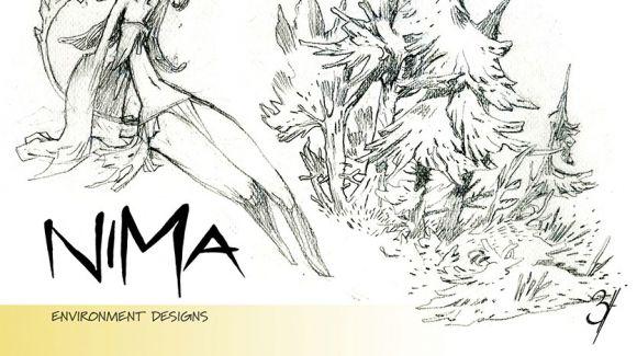 Diseños de árboles y naturaleza para Nima