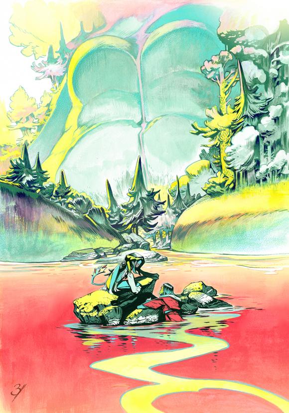 Portada provisional del Artbook
