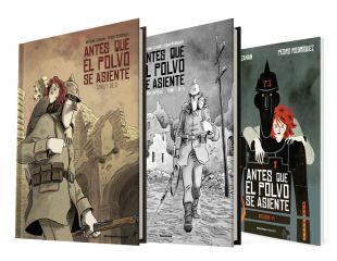 ANTES QUE EL POLVO SE ASIENTE (1 de 2) / Cómic + Edición Especial BN + Artbook ANTES QUE EL POLVO SE ASIENTE (1 de 2)