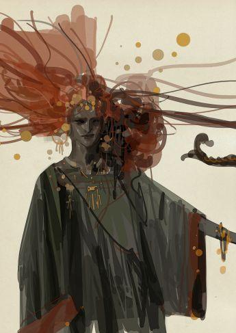 """EL HÚSAR Y LA BRUJA: Diseños de """"La Bruja"""""""