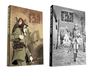 ANTES QUE EL POLVO SE ASIENTE (1 de 2) / Cómic + Edición Especial BN ANTES QUE EL POLVO SE ASIENTE (1 de 2)