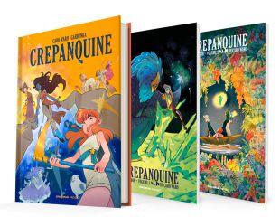 CREPANQUINE / Obra completa + Artbooks 1 & 2 CREPANQUINE (Libro Integral y Tomo 2)