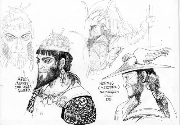 ODYSSEY: Character Design