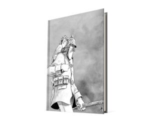 AVANT QUE POUSSIÈRE NE RETOMBE (1 de 2) / BD avec couverture dessinée à la main AVANT QUE POUSSIÈRE NE RETOMBE (1 de 2)