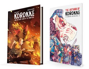 KOROKKE Y EL ESPÍRITU BAJO LA MONTAÑA + Artbook Vol.2 KOROKKE ET L'ESPRIT SOUS LA MONTAGNE