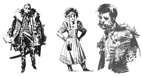 THE HUSZÀR & THE WITCH: Character Design