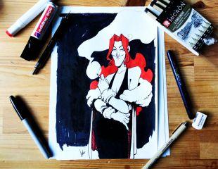 MARDI GRAS 1993 / Comic + Artbook  + Commission MARDI GRAS 1993