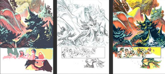 Page creation process for Nima