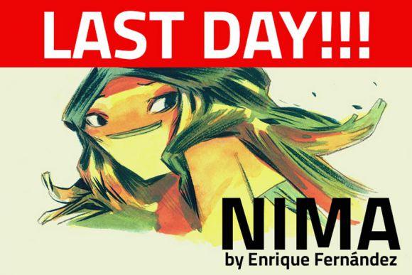 NIMA, last day to back!