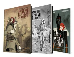 BEFORE THE DUST SETS (1 of 2) / Comic + Special Edition B&W + Artbook BEFORE THE DUST SETS (1 of 2)