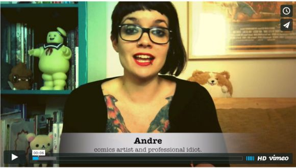 Andre walks you through her latest project: Nothin' Personal
