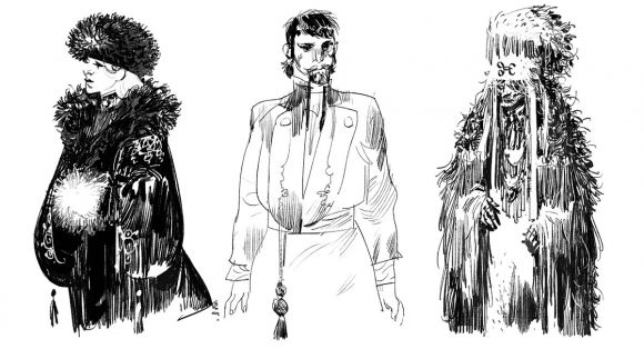 THE HUSZÀR & THE WITCH: Character Design Vol. 2