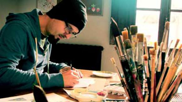 """Enrique Fernández: """"Me gusta crear personajes vinculados de forma directa con la naturaleza o con un mundo espiritual, incluso místico"""""""